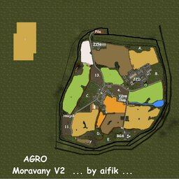 Farming Simulator 17 Map - AGRO Moravany V2