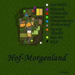 Farming Simulator 17 Map - Hof-Morgenland