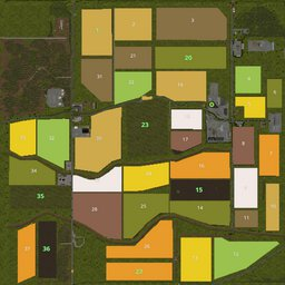 Farming Simulator 17 Map - National Park the Dutch Biesbosch