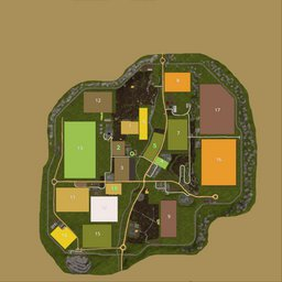 Farming Simulator 17 Map - TheLand