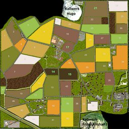 Farming Simulator 17 Map - Wassel Regional