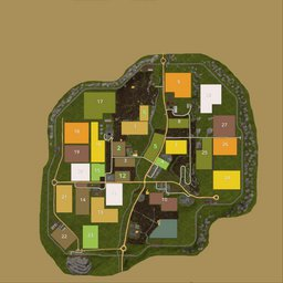 Farming Simulator 17 Map - Woodshire